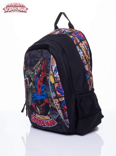 Czarny plecak szkolny MARVEL Spiderman                                  zdj.                                  2