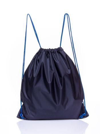 Czarny plecak worek DISNEY sportowy NBA                                  zdj.                                  2