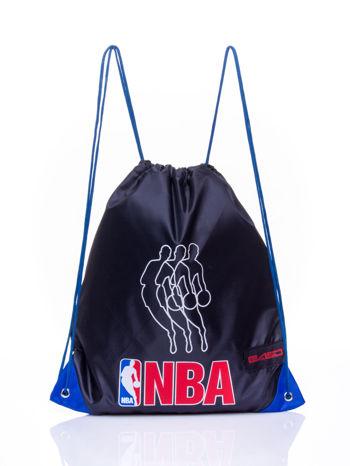 Czarny plecak worek DISNEY sportowy NBA                                  zdj.                                  1