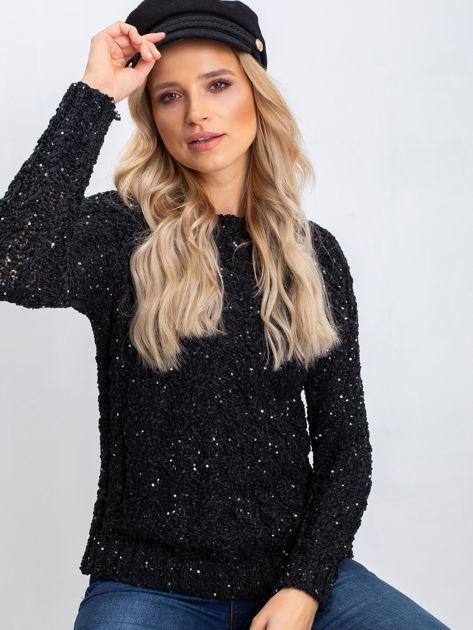 Czarny sweter Attractive                              zdj.                              1