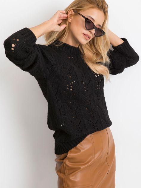 Czarny sweter Brando                              zdj.                              3