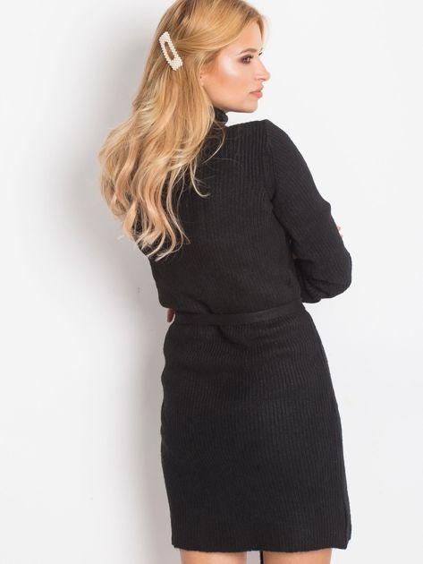 Czarny sukienka Malta                              zdj.                              2