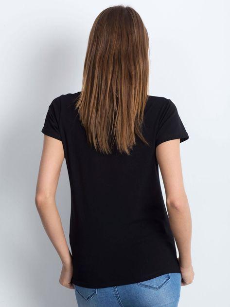 Czarny t-shirt Square                              zdj.                              2