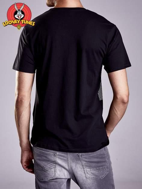 Czarny t-shirt męski LOONEY TUNES                                  zdj.                                  6