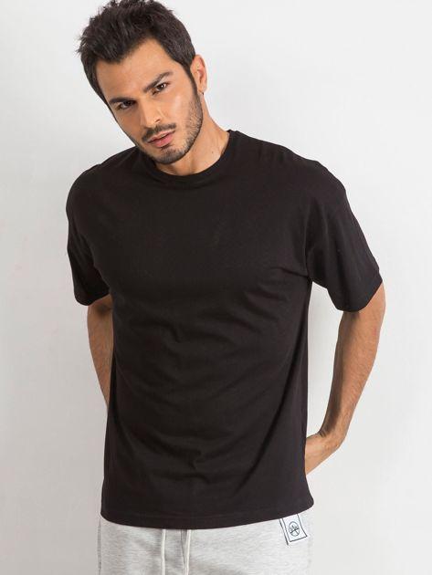 Czarny t-shirt męski Overload
