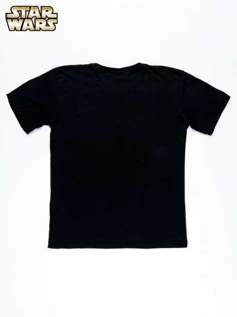 Czarny t-shirt męski z nadrukiem STAR WARS                                  zdj.                                  11