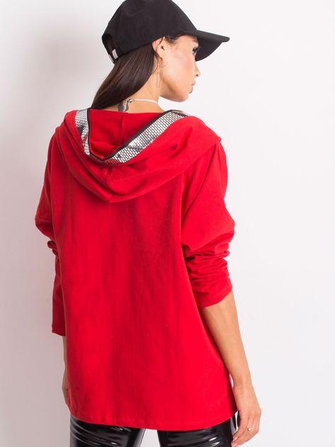 Czerwona bluza Gianna                              zdj.                              2