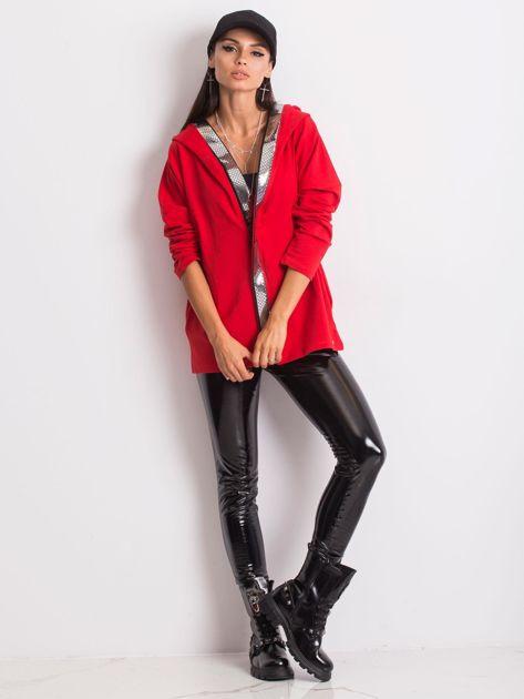 Czerwona bluza Gianna                              zdj.                              4