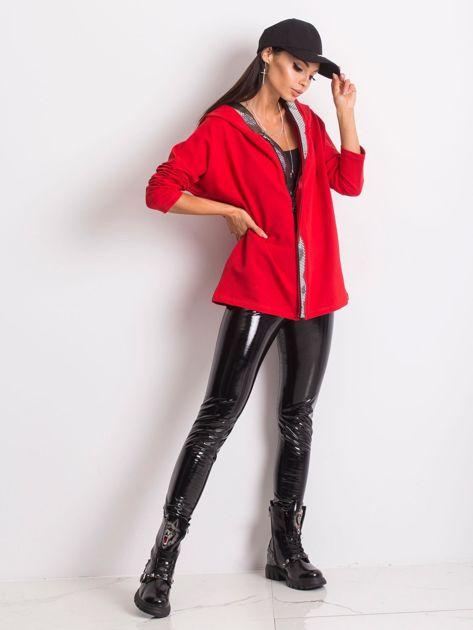 Czerwona bluza Gianna                              zdj.                              6
