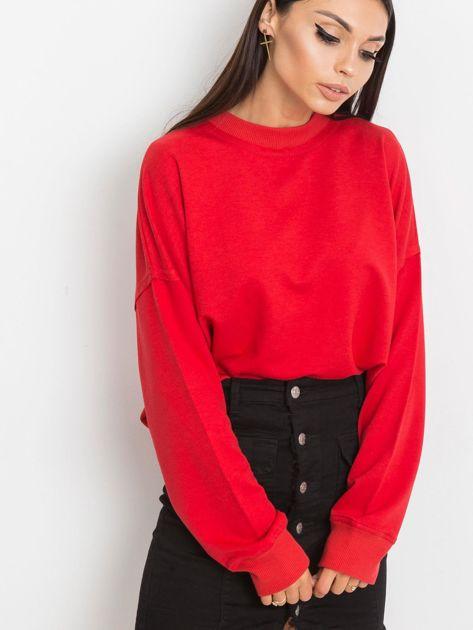 Czerwona bluza Wild                              zdj.                              1