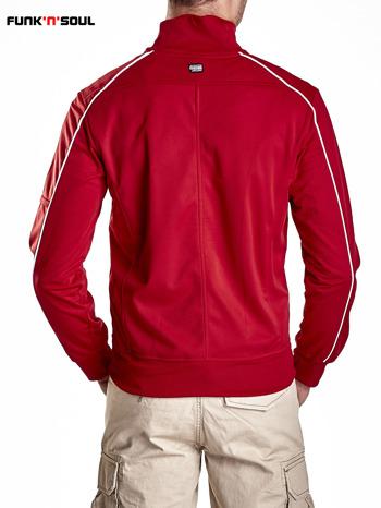Czerwona bluza męska z kieszeniami na suwak Funk n Soul                                  zdj.                                  3
