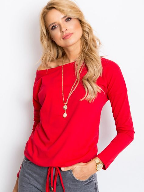 Czerwona bluzka Carla                              zdj.                              6