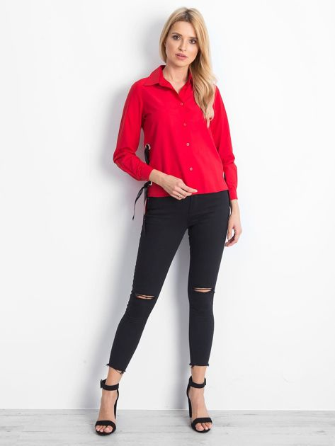 Czerwona koszula Boundaries                              zdj.                              4
