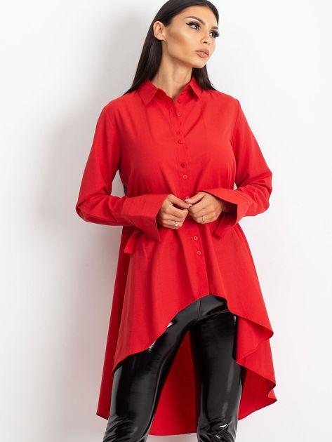 Czerwona koszula Sydney                              zdj.                              5