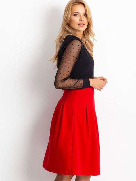 Czerwona spódnica Gemini                              zdj.                              3