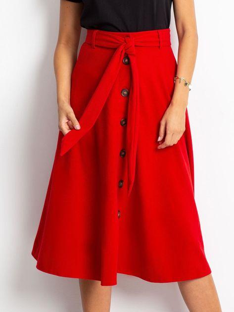 Czerwona spódnica Trust                              zdj.                              1