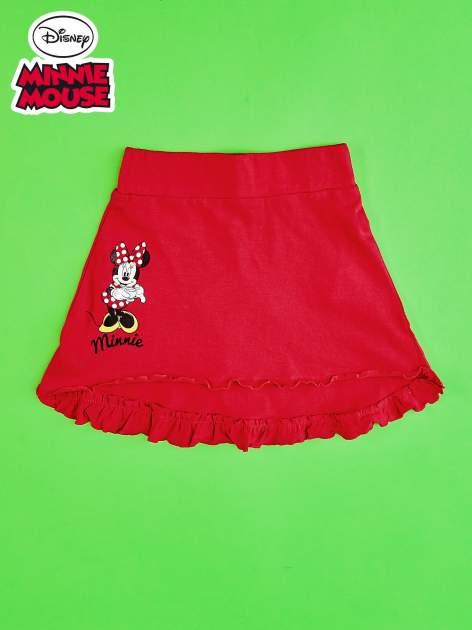 Czerwona spódnica dla dziewczynki MINNIE MOUSE