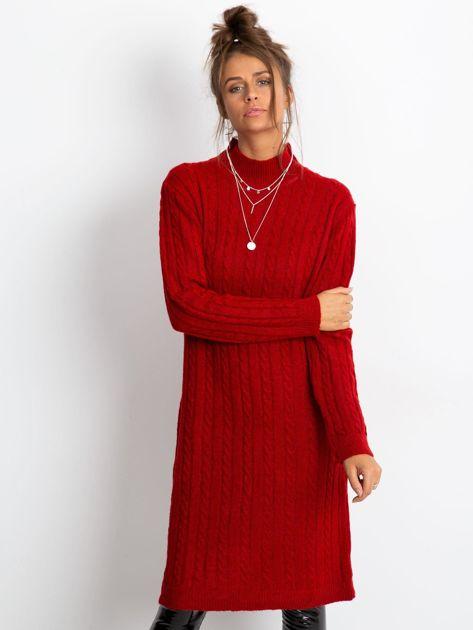 Czerwona sukienka Evermore                              zdj.                              2
