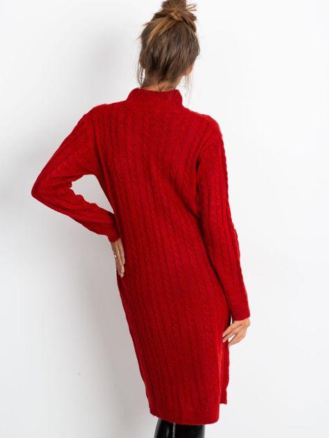 Czerwona sukienka Evermore                              zdj.                              4