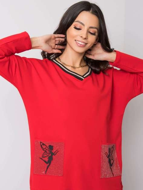 Czerwona sukienka Michaela