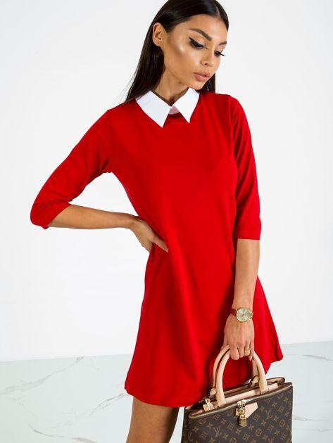 Czerwona sukienka Poppy                              zdj.                              1