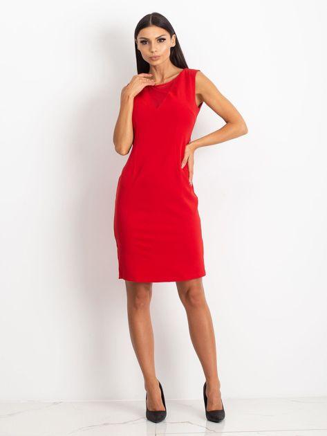 Czerwona sukienka Theme                              zdj.                              4