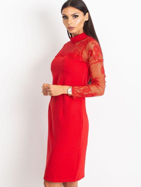 Czerwona sukienka Time                              zdj.                              1