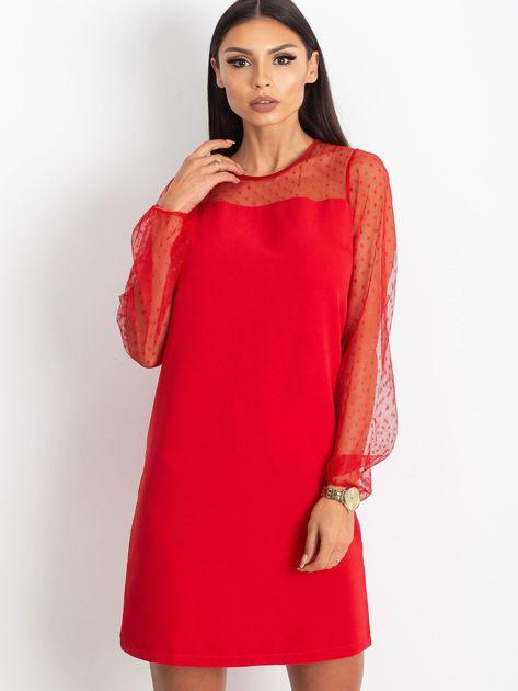 Czerwona sukienka Vanity                              zdj.                              1