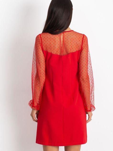 Czerwona sukienka Vanity                              zdj.                              2