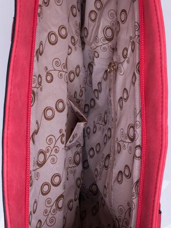 Czerwona torba city bag na ramię                                  zdj.                                  4