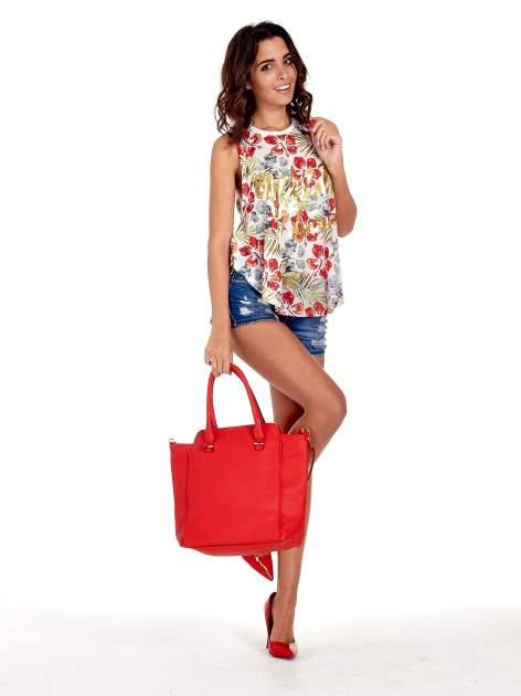 Czerwona torba shopper bag                                  zdj.                                  10