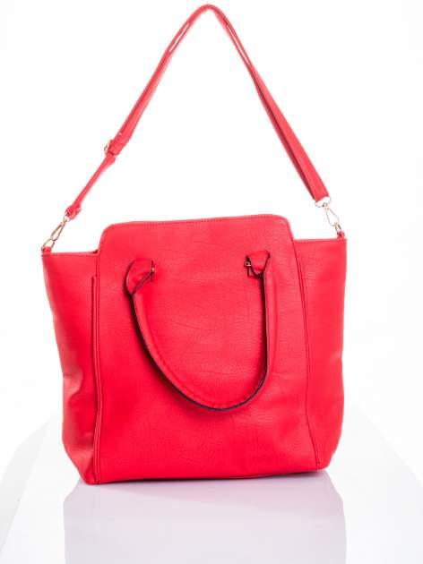 Czerwona torba shopper bag                                  zdj.                                  4