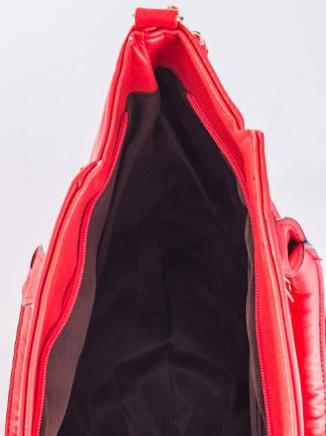 Czerwona torba shopper bag                                  zdj.                                  9
