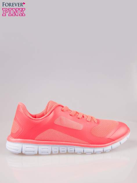 Czerwone buty sportowe eco leather Fruity z podeszwą z rowkami flex                                  zdj.                                  1