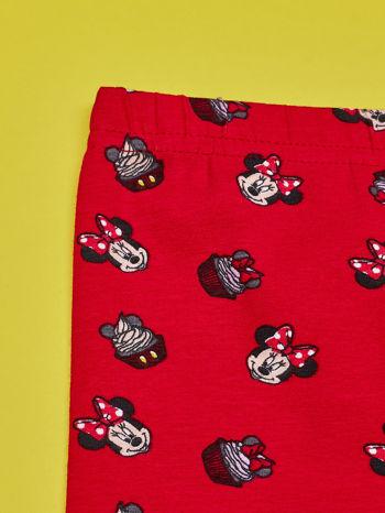 Czerwone legginsy dla dziewczynki MINNIE MOUSE                                  zdj.                                  3