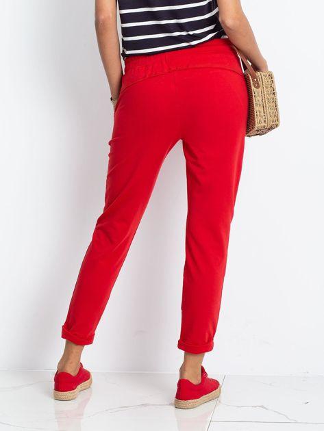 Czerwone spodnie Approachable                              zdj.                              2