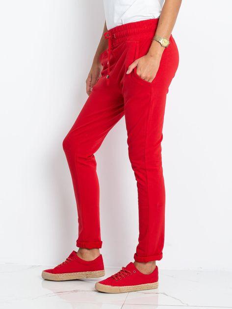 Czerwone spodnie Cadence                              zdj.                              3