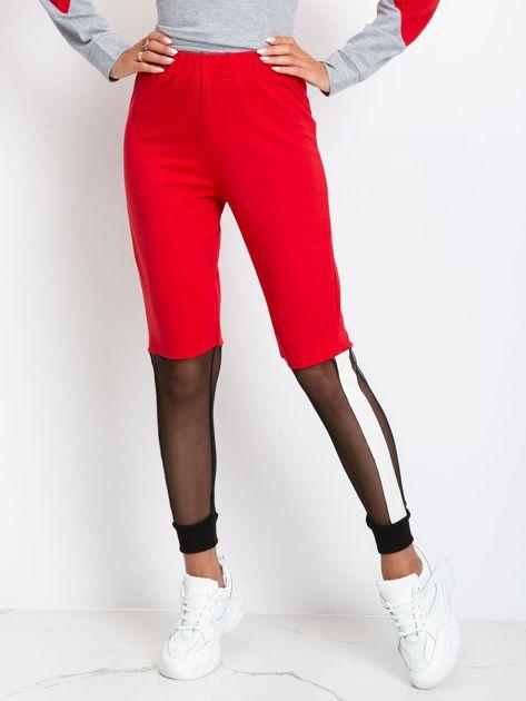 Czerwone spodnie Melody