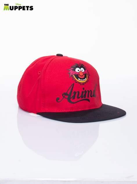 Czerwony chłopięca czapka z daszkiem MUPPETY                                  zdj.                                  2