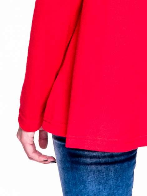 Czerwony klasyczny sweterek                                  zdj.                                  7