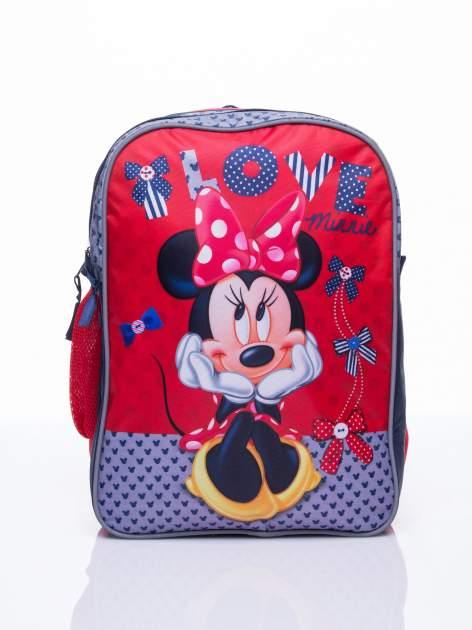 Czerwony plecak szkolny DISNEY Myszka Minnie                                  zdj.                                  1