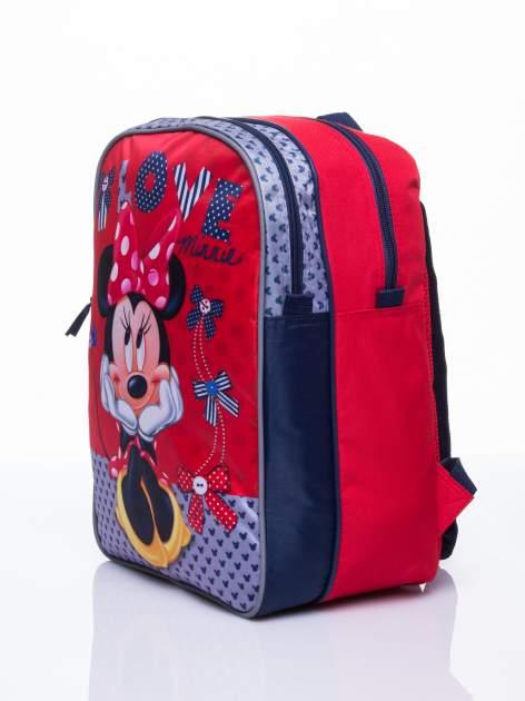 Czerwony plecak szkolny DISNEY Myszka Minnie                                  zdj.                                  2