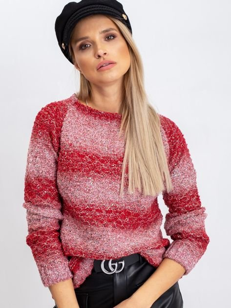 Czerwony sweter Loop                              zdj.                              1