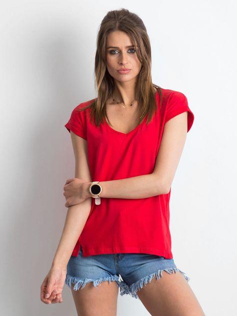 Czerwony t-shirt Vibes