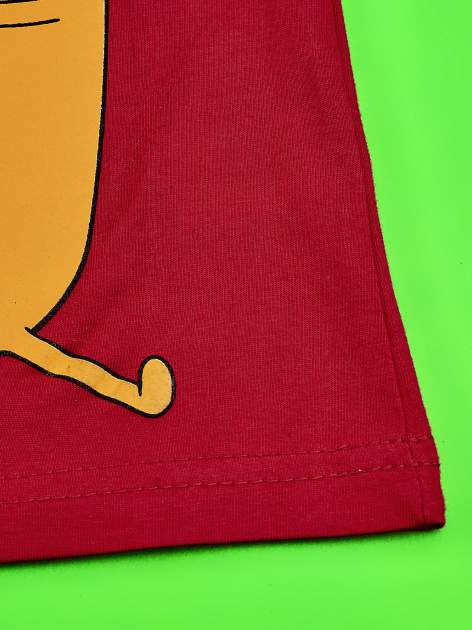 Czerwony t-shirt chłopięcy ADVENTURE TIME                                   zdj.                                  5