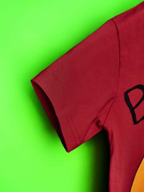 Czerwony t-shirt chłopięcy ADVENTURE TIME                                   zdj.                                  6