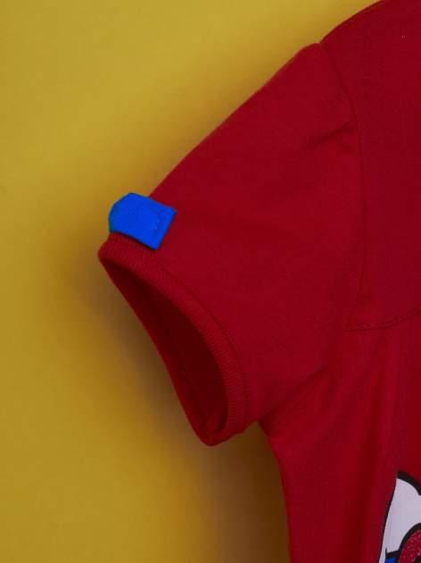 Czerwony t-shirt dla dziewczynki HELLO KITTY                                  zdj.                                  5