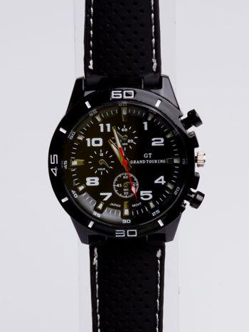 DLA NIEGO... Czarno-biały sportowy zegarek męski GT GRAND TOURING                                  zdj.                                  3