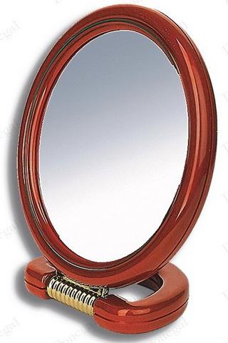 DONEGAL Dwustronne lusterko kosmetyczne owalne 13x17cm (9503)