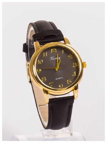 Damski zegarek z delikatnym wzorem na tarczy                                  zdj.                                  3